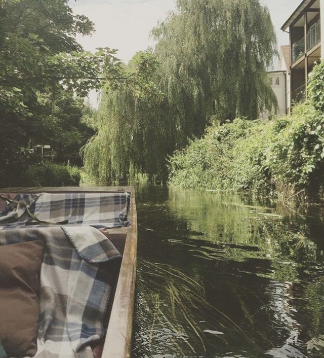 Private punting tour Canterbury