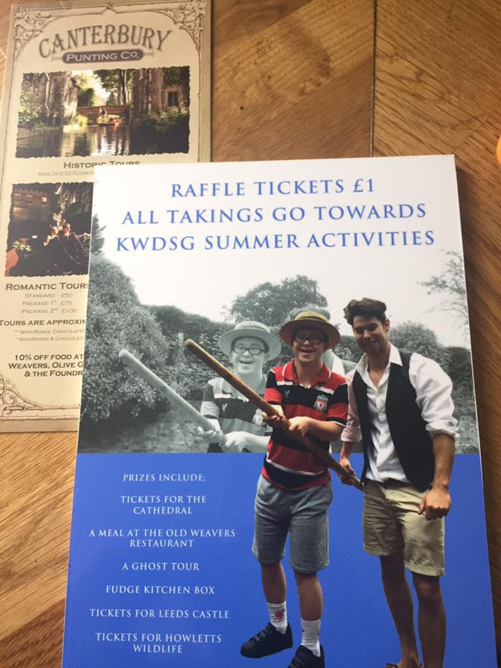 KWDSG Charity Raffle Tickets