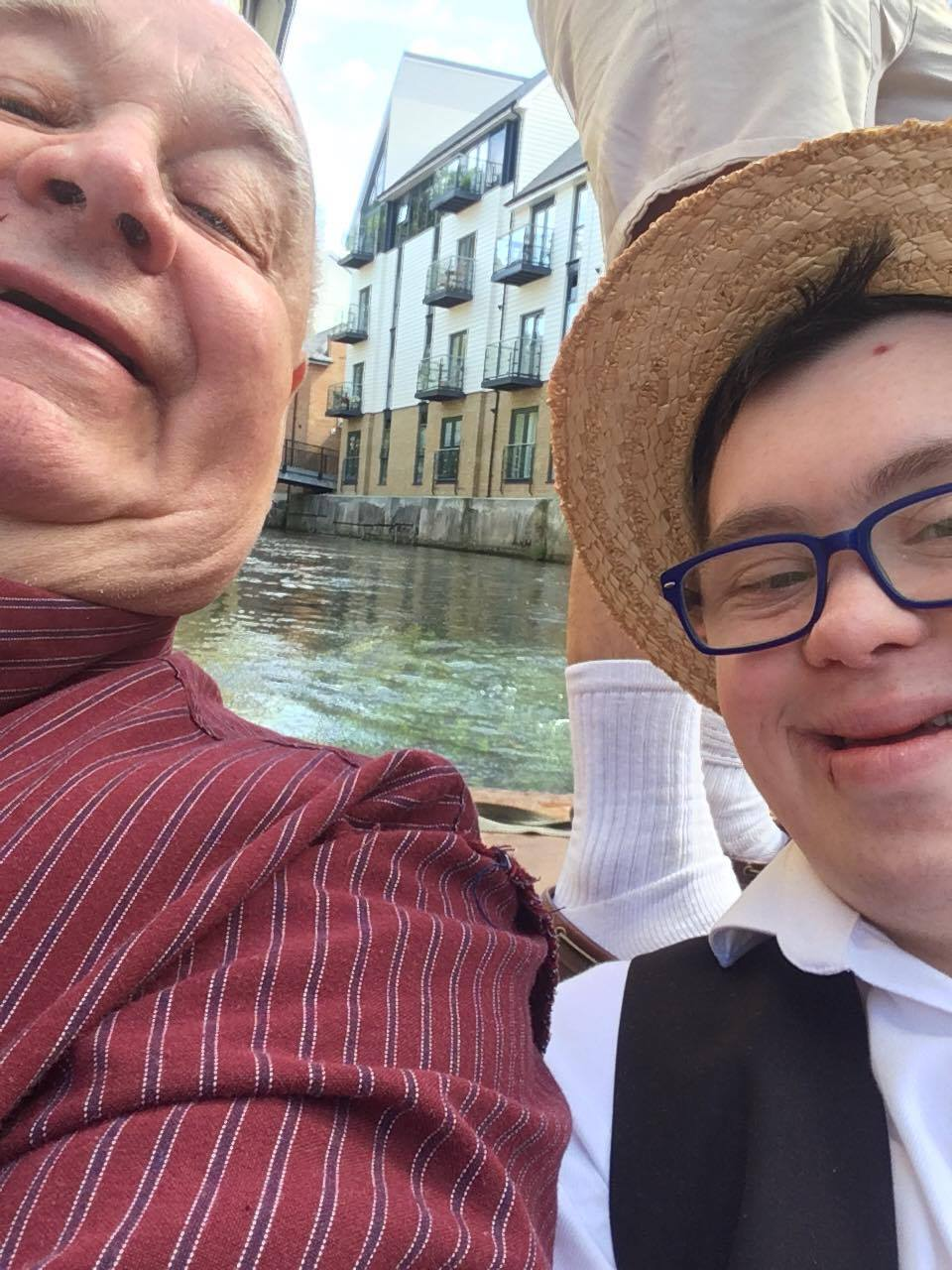 kent wide down syndrome group punting tour was great fun